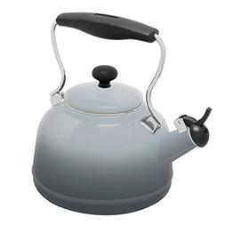 Chantal 37 OM FG Lake Teakettle Tea Kettle 1.7 Qt Faded Grey