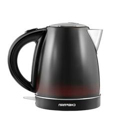 Chefman Color Changing Electric Tea Kettle w/ Stainless Stee