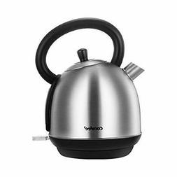 COMFEE' 100% Stainless Steel Inner Pot and Lid Electric Kett