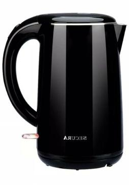 Secura Cool Touch Water Kettle 1.7L 1500W
