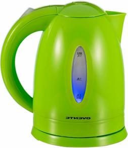 bpa cordless electric kettle green