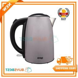 Igenix Cordless Electric 1.7L Jug Kettle, Easy Open Lid & Re