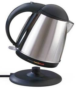 CHEF'S CHOICE 6770001 Cordless Electric Kettle,1-3/4 Qt,8-7/