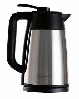 Chefman Cordless Electric Kettle, Stainless Steel Premium Gr