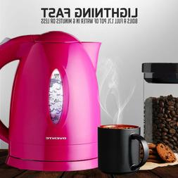 Cordless Electric Tea Coffee Kettle Hot Water Pot Fast Boile