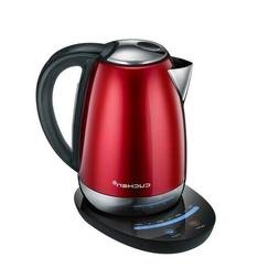 Premium Electric Tea Coffee Kettle LED Touch CKT-C1701M Red