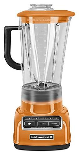 KitchenAid 5-Speed Diamond Blender in Tangerine