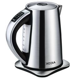 Aicok Electric 1.7L Kettle Variable Temperature Tea Kettle S