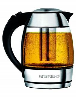 Chefman Electric Glass Kettle w/Temperature Control & Indica