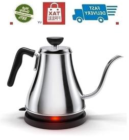 Electric Gooseneck Kettle Rapid Boil Electric Kettle Water H