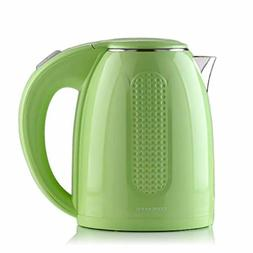 Electric Hot Water Kettle Double Walled Stainless Steel Fast