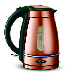 BELLA  1.7 Liter Electric Illuminated Glass Kettle with Auto
