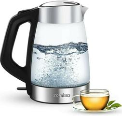 Cusimax Electric Kettle 1.7L BPA-free Hot Water Kettle with