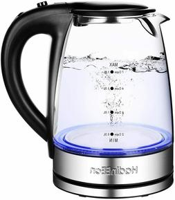 electric kettle 1 7l glass electric tea
