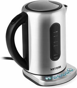 Electric Kettle 1.7L Stainless Steel Digital Tea Kettle with