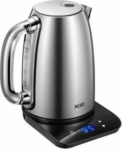 Electric Kettle, 1.7L Temperature Control with Digital LCD B