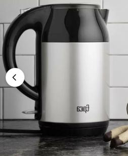 Epica Electric Kettle 1.8qt. W/Stainless Steel Interior Silv