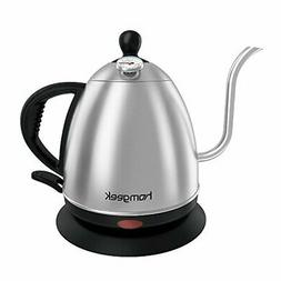 Homgeek Electric Kettle, 1 Liter Gooseneck Kettle Stainless