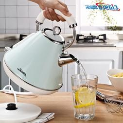 Electric kettle 304 stainless steel household kettle small h