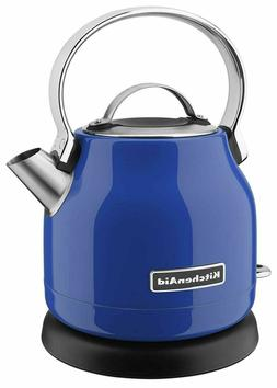 KitchenAid Electric Kettle 5 Cup Twilight Blue Stainless KEK