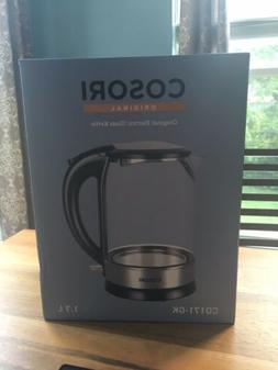 COSORI Electric Kettle,1.7L Cordless Glass Boiler Hot Water