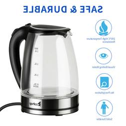 Electric Kettle Glass Water Boiler Fast Boiling Tea Kettle