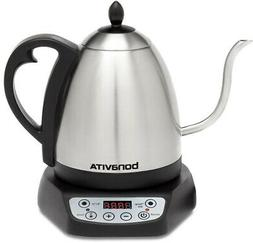 BONAVITA Electric Kettle Gooseneck with Adjustable Thermosta