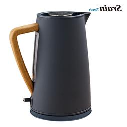 Electric Kettle Heater Stainless Steel Automatic Shut Off Wa