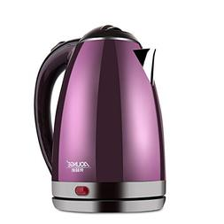 XYEQZ Electric Kettle, 304 Stainless Steel Automatic Power O