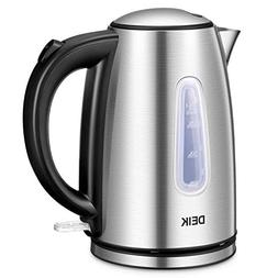 Electric Kettle Stainless Steel Cordless Tea Kettle with Bri