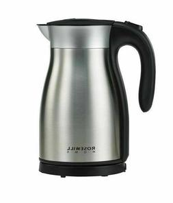 Rosewill Electric Kettle Stainless Steel Double Wall Vacuum