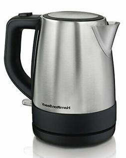 Stainless Electric Kitchen Kettle Pot Hot Water Tea Quick Bo