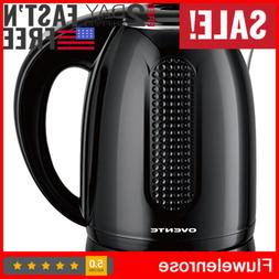 Electric Kettle Tea Hot Water Coffee Brew 1.7L Stainless Ste