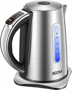 Electric kettle, Aicok Temperature Control kettle with 2 Hou