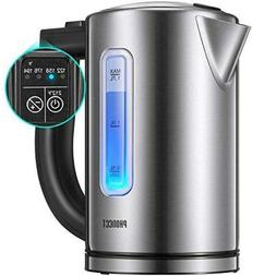 PHONECT Electric Kettle Temperature Control Stainless Steel