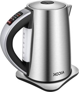 Electric Kettle Temperature Control with 1500W SpeedBoil,Aut