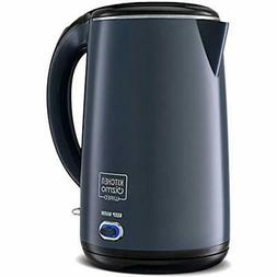 Electric Kettles Stainless Steel Double-Walled  Kitchen &amp