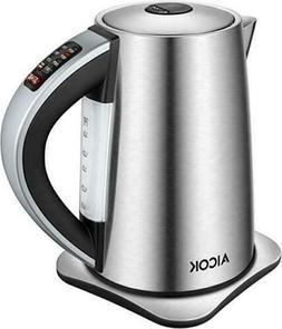 Aicok Electric Stainless Tea Kettle Server Cordless KE7466TJ