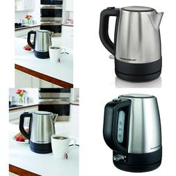 Electric Tea Kettle 40998 Stovetop Filter 1Liter Stainless S