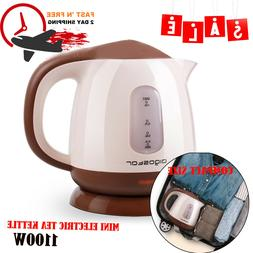 Electric Tea Kettle Hot Water Mini Boiler Portable Boil Heat