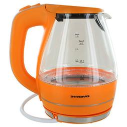 1.59-qt. Electric Tea Kettle Color: Orange