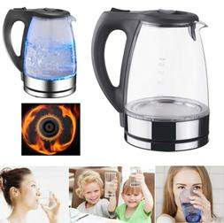 Electric Water Heating Teapot Cooker Kettle Milk Boiler Coff