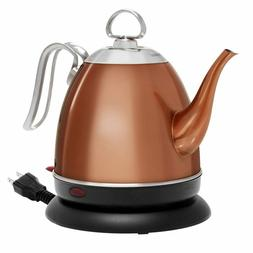 Chantal ELSL37-03M CP Mia Electric Kettle, 32 oz, Copper