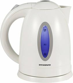 Fast shipping Ovente KP72W 1.7L BPA-Free Electric Kettle