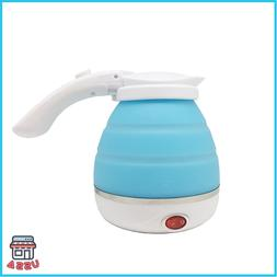 Foldable Electric Kettle Travel Portable Silicone Collapsibl