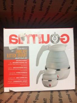 gk360w foldable electric kettle white brand new