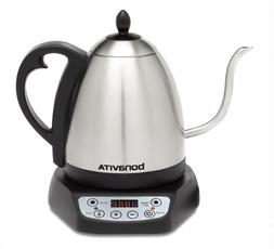 Bonavita Gooseneck Electric Kettle Silver Hot Beverages Wate