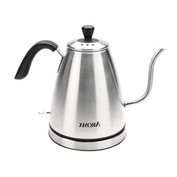 Aroma Gooseneck Electric Kettle Stainless Steel