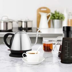gooseneck electric kettle temperature control stainless stee