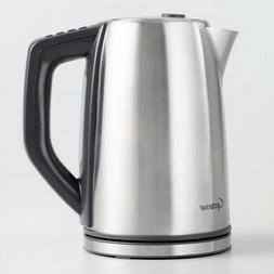 Capresso H2O Stainless Steel Plus Electric Coffee Tea Kettle